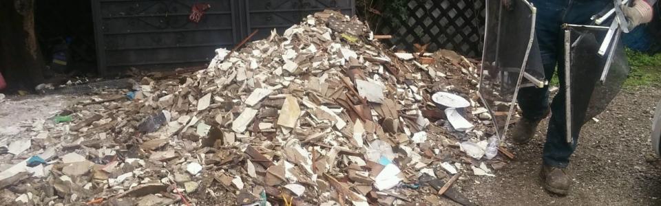 construction debris clean up Sandiego